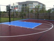 Multi-family housing in Baton Rouge, LA 30'x50' game court